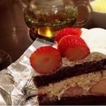 ハーブス - ☆ストロベリーチョコレートケーキ☆