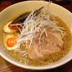 麺や天鳳 - 和風ラーメン(脂多め、麺硬め)