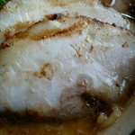 麺屋 伊織 - チャーシュー(醤油、玉子チャーシューらー麺)