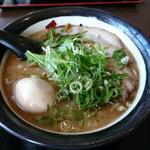 麺屋 伊織 - 塩味、玉子チャーシューらー麺