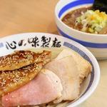 心の味製麺 - 料理写真:チャーシューあっさり鶏豚つけ麺
