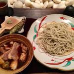 手打ちそばたか木 - 料理写真:鴨汁そば 1480円