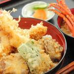 海老屋 - 料理写真:■伊勢海老天丼■