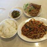 味苑 - 四川定食A