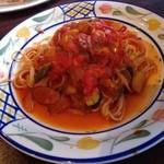 タヴェルナオリーヴ - ランチパスタ  今週はコンタディーナパスタ♪ 懐かしい素朴な味で美味しかったです(o^^o)