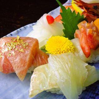 新感覚の2枚重ね寿司