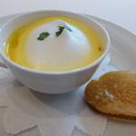 34536917 - 有機人参のクリームスープ