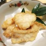 34538097 - サバフグの唐揚げ 柚子ポン酢