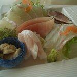 松輪 - 活しめヒラメの刺身(2,100円)
