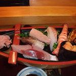 みしま - 特上にぎり寿司です。
