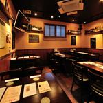 Irish pub Booties・・・ - 30名様まで対応できる第二ホール