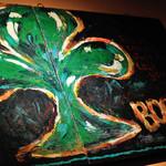 Irish pub Booties・・・ - アイルランドの国花であるシャムロック♪