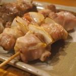 喜味の屋 - 料理写真:焼き鳥(精肉)