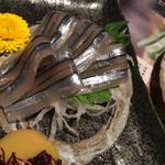 九州 熱中屋 - きびなごの刺身小