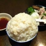 大食漢 - 料理写真:漢(おとこ)盛りのライス