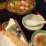 喜作 - 味噌煮込みデラックス(大盛)