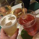 34544679 - 白ワイン・カシスソーダ・白ぶどうビール割りで乾杯