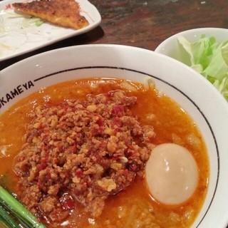 麺 鶴亀屋 - 台湾ラーメンミニ 670円