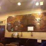 シャルマン - 店内の世界地図ディスプレイも激シブ!