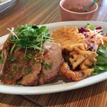 ディキシーダイナー - 豚の生姜焼きプレート