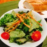ポポラーレ - ランチセットのサラダ♪