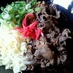 34546878 - 特選丹波牛肉ぶっかけ(冷)