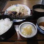 多気 - 焼き魚定食