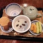 34549089 - 中国茶のセット。