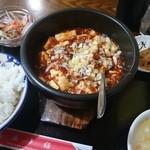 上海酒家 - ランパスで麻婆豆腐セット(ΦωΦ)フフフ…