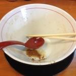 麺屋うさぎ - ごちそうさま!魚粉が!!