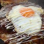 ざぶとん焼桂友 - 料理写真:ざぶとん焼き 焼きそば