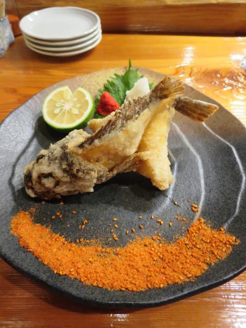 魚虎 - アラカブ唐揚 980円