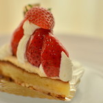 ル・ポンポネット - 料理写真:苺のタルト