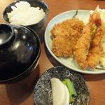 とんかつ水龍 - Cランチ1,000円
