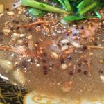 すごい煮干ラーメン凪 - スープ(2015年1月)