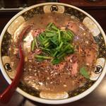 すごい煮干ラーメン凪 - 「蔵出し味噌2015 冬ごもり」1000円(2015年1月)