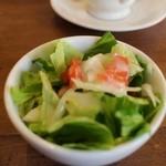ジロー珈琲 - ランチセットのミニサラダ