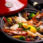 牡蠣と地中海料理 ALEGRIA - ALEGRIA 風 濃厚ブイヤベースで仕上げた魚介のパエリア