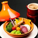 牡蠣と地中海料理 ALEGRIA - タジン鍋で蒸した農家直送野菜のバーニャカウダ