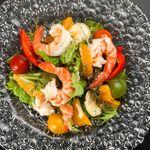 牡蠣と地中海料理 ALEGRIA - 海老とオレンジマリネの地中海風サラダ