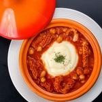 牡蠣と地中海料理 ALEGRIA - 牛トリッパとひよこ豆のトマト煮込み