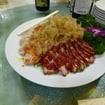 34559799 - 熊猫飯店 四種前菜の盛り合わせ