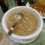 34559814 - 熊猫飯店 蟹肉入りフカヒレスープ