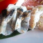 游玄亭 - 海老&つぶ貝