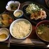 ルージュ・エ・ノアール - 料理写真:日替り定食 750円  ・魚のてんぷら ・小鉢2品 ・茶碗蒸し ・お味噌汁  おいしく頂きました (*´ڡ`●)