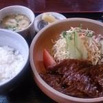 陶園 - 料理写真:近江牛の焼肉定食