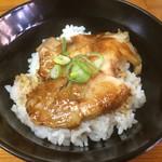 入船食堂 - 丼定食(ミニチャーシュー丼)+150円 お昼限定