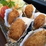 金市朗 市ヶ谷店 - 名物!カキフライ定食¥1,000(税込み)