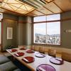 日本料理 みつき - 内観写真:【芸州】8名様まで対応可能な堀りごたつの個室。当店一番人気のお部屋で南に面した窓から広島の街並、山、海が一望できます。