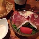 スペイン食堂 Deco2階 - 生ハムのシーザーサラダ680円